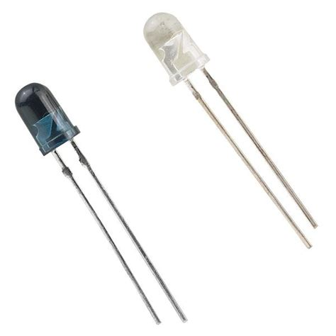 ir diode and photodiode infrared led emitter and detector radioshack