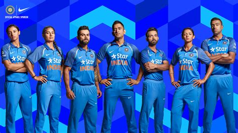 team india nike unveils new team india cricket kit nike news