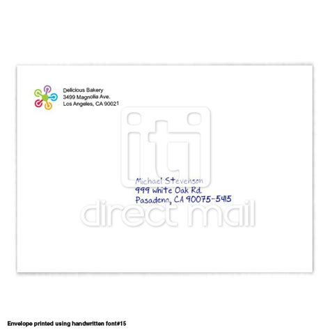 9x12 Envelope Printing Services Iti Direct Mail 9x12 Envelope Template