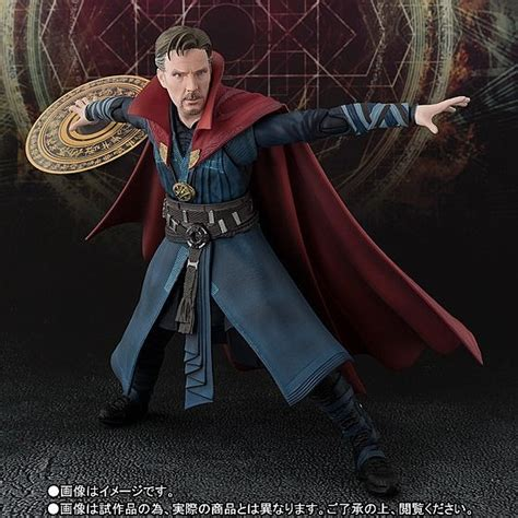 Shf Dr Strange Shfiguarts Doctor Effect Dr Dr Marvel doctor strange opens a portal into the world of sh figuarts
