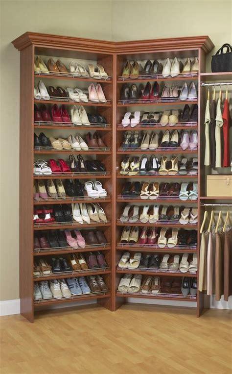 closet shoe storage project working idea access plans for revolving shoe rack