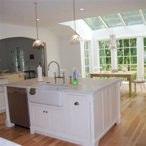 island with sink 25 best ideas about kitchen island sink on pinterest