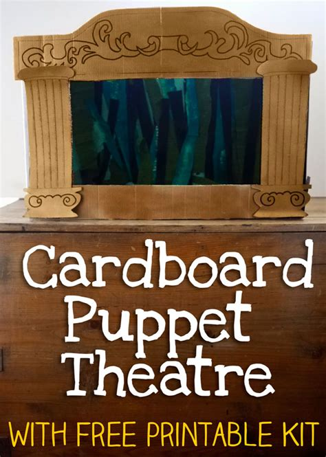 Goodnight Construction Box Set how to make a puppet theatre let s play