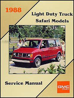 online service manuals 1996 gmc safari on board diagnostic system 1988 gmc safari van shop manual 88 original repair serivce book ebay