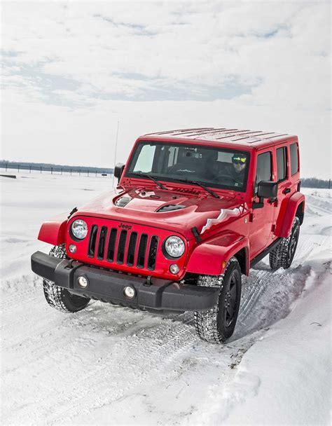 Jeep Wrangler 4 Wheel Drive System Fca Winter Drive Event