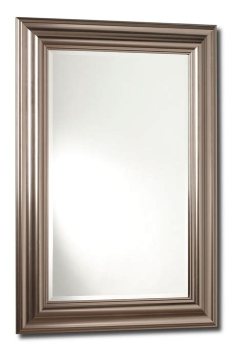 mirror 59 quot h grey contemporary oval frame i 3359 in