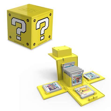 porta nintendo 3ds question block 3ds card nintendo official uk store