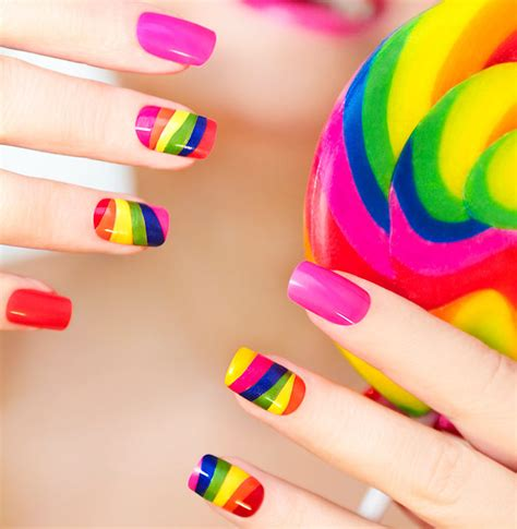 Simple Nail Paint Design by Top 15 Beautiful Nail Designs At Home Without Tools