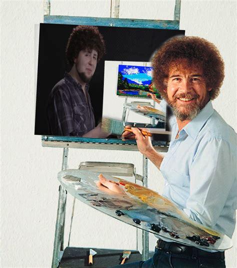 bob ross painting reddit bob ross if he was painting jon ross painting bob ross
