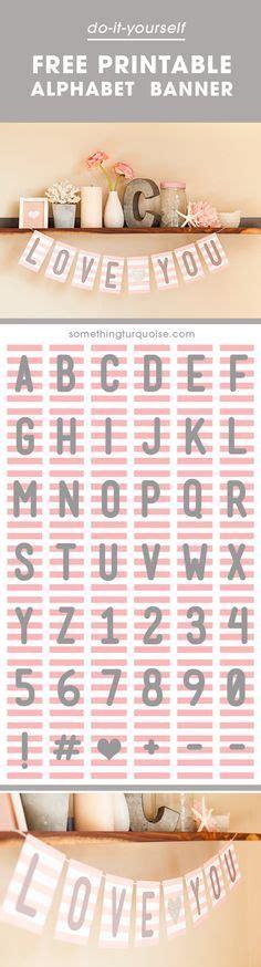 also check out this adorable free printable that would be check out this adorable free printable alphabet banner