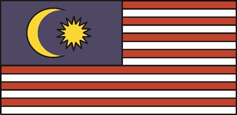 flags of the world malaysia printable flags of the world