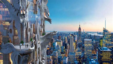 Chrysler Building Eagle by The Grandeur Of The Chrysler Building New York