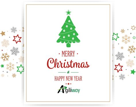 agiliway wishes  merry christmas   happy  year agiliway