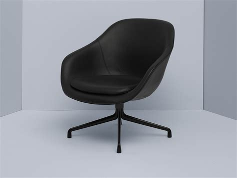 hay about a chair lounge buy the hay about a lounge chair low aal81 black swivel