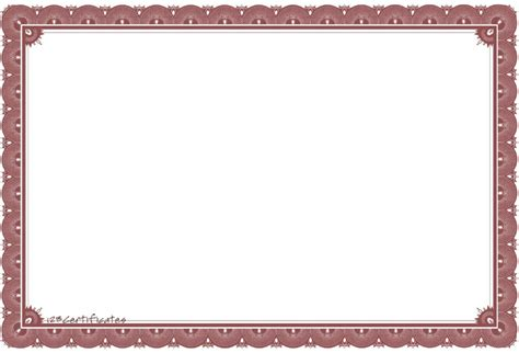 free certificate borders templates home design free certificate borders to
