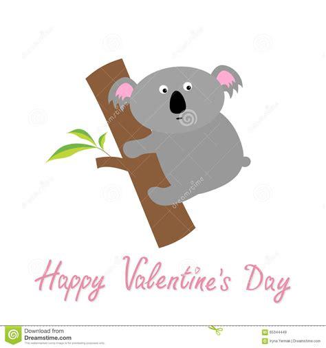 valentines day australia happy valentines day card koala baby
