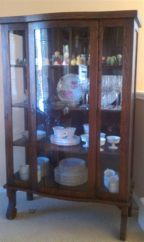 Antique china cabinet antique appraisal   InstAppraisal