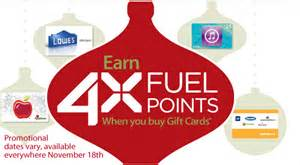 Kroger Gift Cards 4x Fuel Points - kroger 4x fuel points ftm