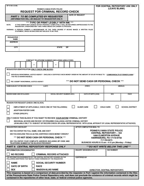 Criminal Record Form Best Photos Of Report Pdf Sle Report Forms Report Template