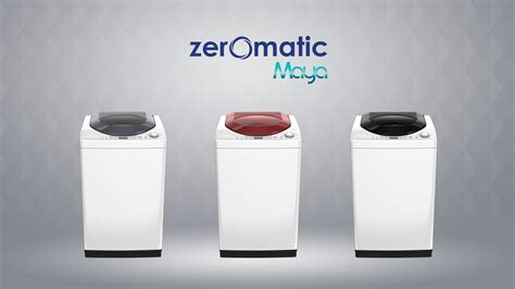 Mesin Cuci Zeromatic Belleza Polytron the new zeromatic paw 7511 8511 and 9511