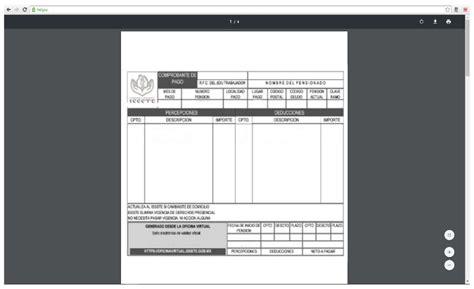 imprimir talon de pago 191 c 243 mo descargar los talones de pago del issste paso a