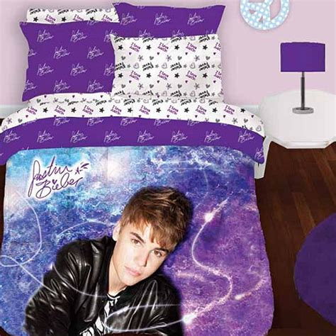 justin bieber bedroom 3pc justin bieber concert twin single bedding sheet set