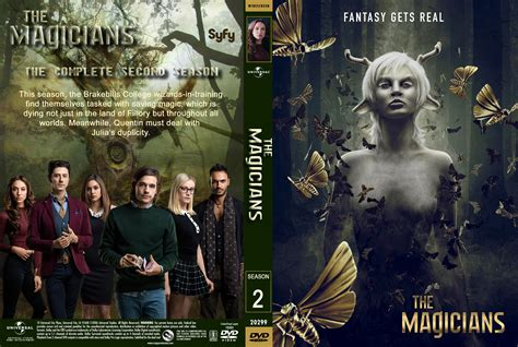 magicians season 2 the magicians season 2 2017 front dvd covers cover