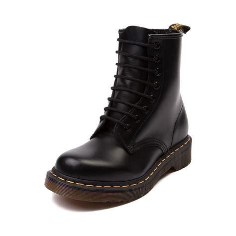 dr martens womens boots womens dr martens 1460 8 eye boot black 569354