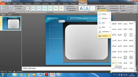 membuat tombol navigasi powerpoint seputar pendidikan cara membuat desain dan tombol