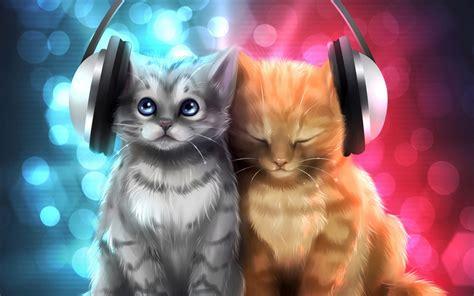 cat song unique desktop backgrounds cats kezanari