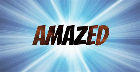 The Word word of the week amazed our escapades