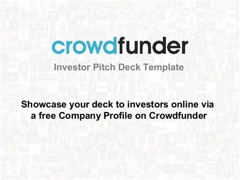 pitch deck template the ultimate investor pitch deck template