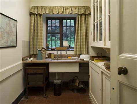 butlers pantry sink crockery cupboard coleton fishacre house designed rupert lady dorothy doyly carte