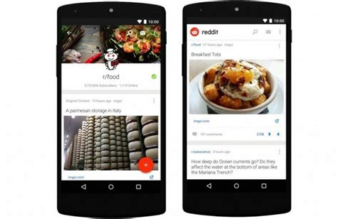 reddit android app the official reddit app for android is here