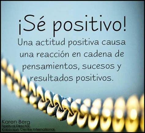imágenes positivas y optimistas se positive una actitud positive causa una reaccion en