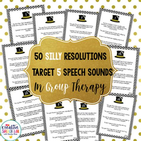 speech about new year resolution 50 articulation silly new year s resolutions by creative