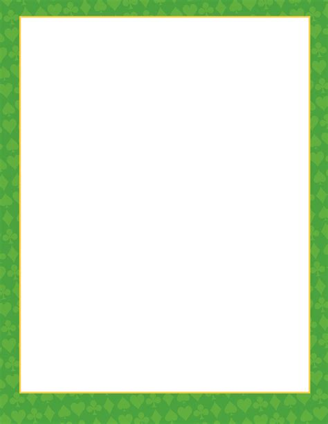 Sw Polkadot Gy green page border pictures to pin on pinsdaddy