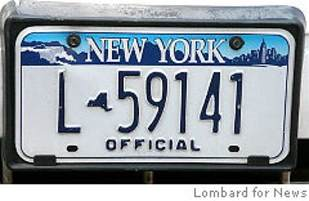 new york car plate the plate at dmv ny daily news