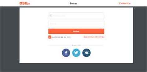 ask fm login mobile como criar uma conta no ask fm como criar