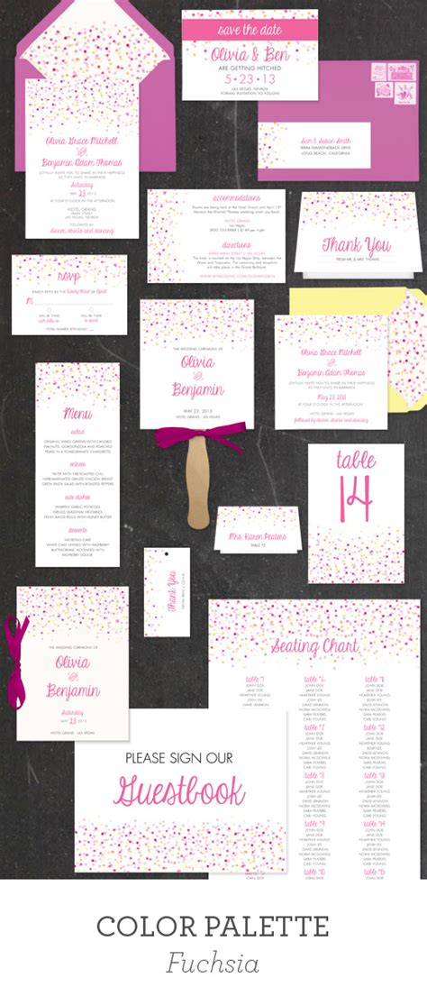4 Bar Folded Card Template by Printable Wedding Template Collection