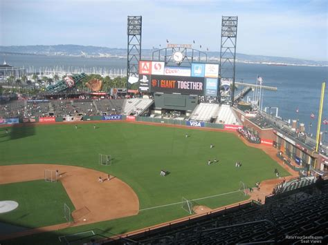 san francisco sections at t park section 310 san francisco giants