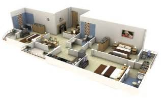 house design plans 3d 3 bedrooms 3 bedroom house plans 3d studio design gallery