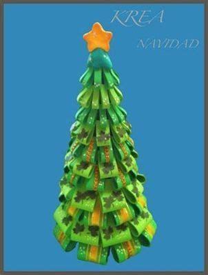 arbol navidad goma eva navidad en goma eva pinterest