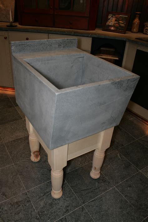 Soapstone Laundry Sink bucks county soapstone
