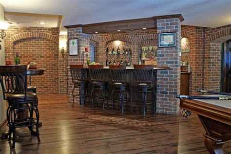 Renovation Ideas For Bathrooms by Finished Basement Bar And Billiard Room Traditional