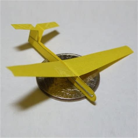 origami glider from instructables