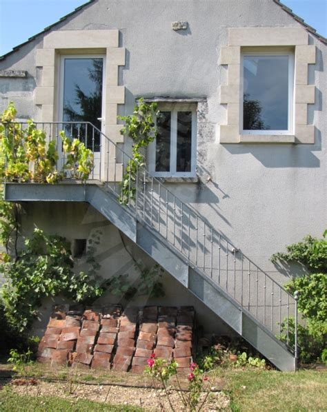 porka net escalier balcon terrasse