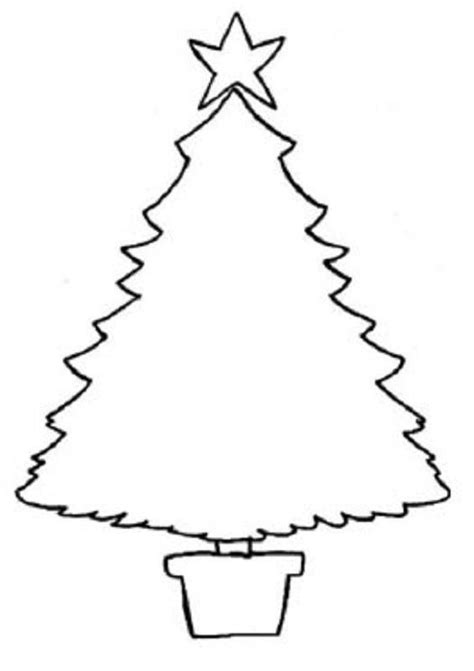 arbol de navidad para calcar desenhos de natal para pintar e imprimir innatia
