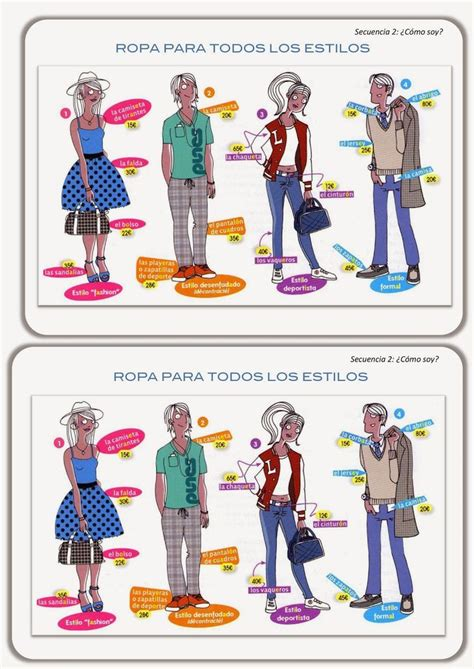 workshop layout in spanish 17 best images about ropa clothing on pinterest tongue