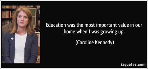 education was the most important value in our home when i